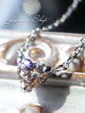 ソーティング付/SI-2グレードアーガイル産ピンクダイヤモンドのK18WGネックレス