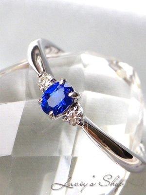 画像1:  0,12ct.!宝石アウイナイトとメレダイヤのプリンセスリング