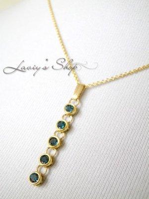 画像5: 宝石インディコライトのベゼルデザインネックレス(I)