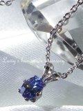 絶産レア!宝石ベニトアイトのプチネックレス