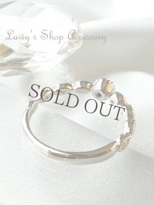 画像3:  Silver925/ローズカットブラックダイヤモンドのリング