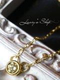 特価!SI-1イエローダイヤモンドのプチネックレス(Faint Yellow)