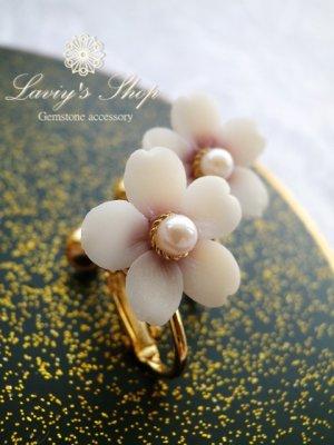 画像3: 『桜ものがたり』ベビーアコヤと桜のイヤリング