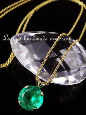 画像3: K14/コロンビア産宝石エメラルドのペンダントトップ