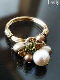 アコヤ本真珠のクラシカルワイヤーリング