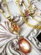画像3: サンセットオレンジサファイアとオレゴンサンストーンのネックレス (3)
